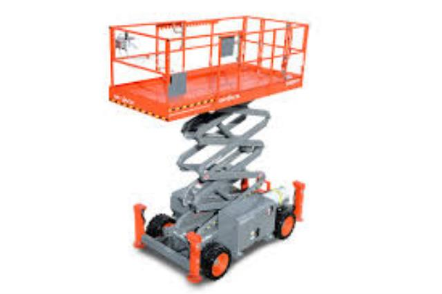 Where to find ALL TERRAIN SCISSOR LIFT - 38  WORK HEIG in Sullivan