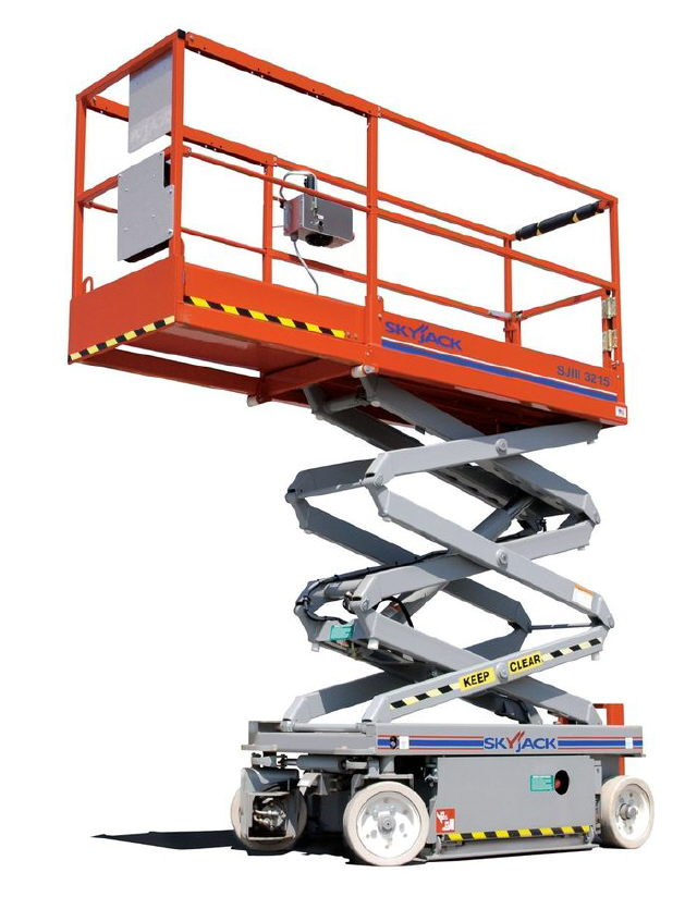 Where to find 19 x32  ELECTRIC SCISSOR LIFT in St. Louis