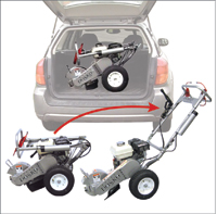 Where to find MINI STUMP GRINDER   COMPACT in Sullivan