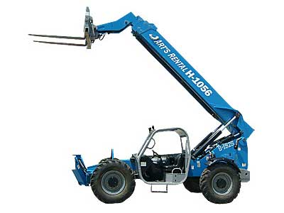 Rent Extended Reach Forklifts