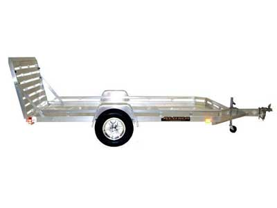 Rent Single Axle Flatbed Trailer Sales